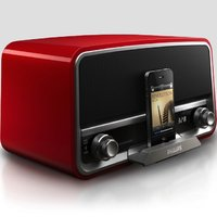 Philips retro radio iPhone-alusta